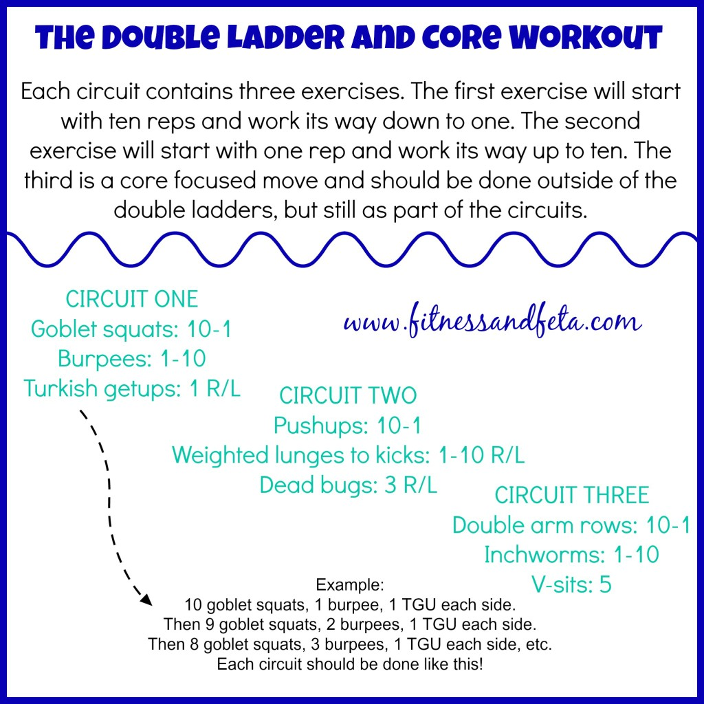 Double Ladder and Core Workout