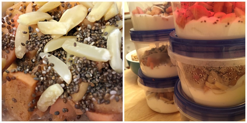 Yogurt Bowls with Caramelized Apples