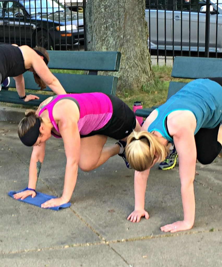 40 Minute Park Bench Bootcamp