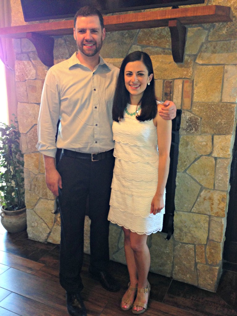 My Bridal Shower: Me and Tim