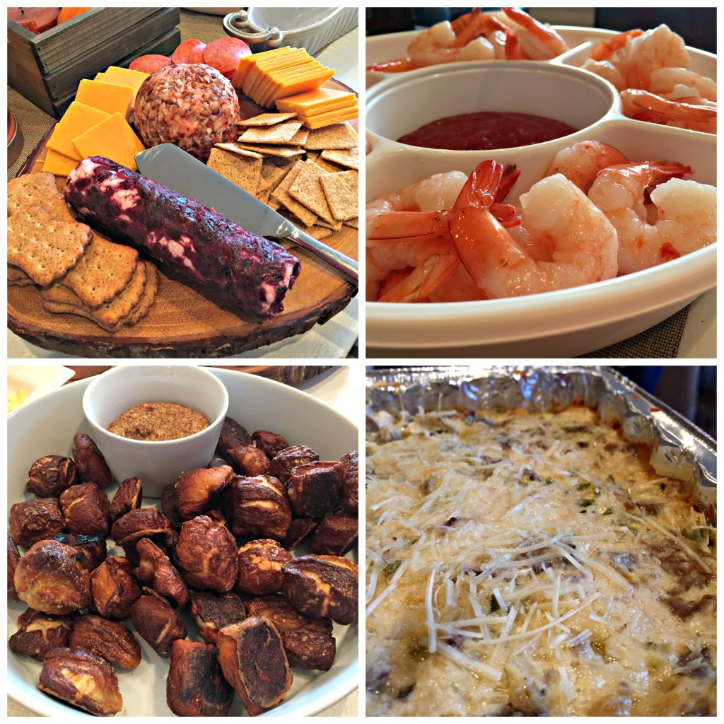 Appetizers at Friendsgiving 2015
