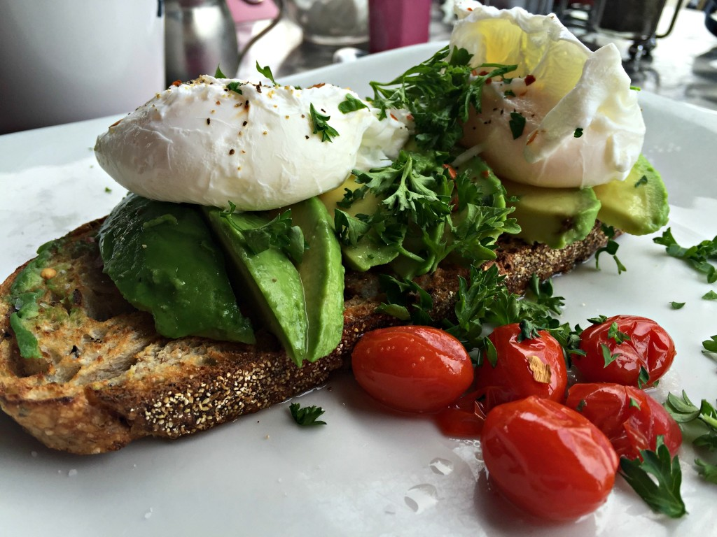 Uncommon Grounds Open Faced Avocado Toast