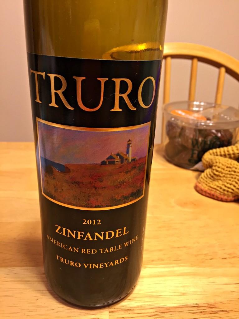 Red Zin from Truro Vineyards