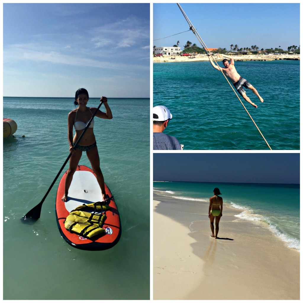 Staying Active in Aruba