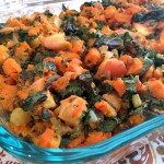 Grain Free Sweet Potato and Apple Stuffing